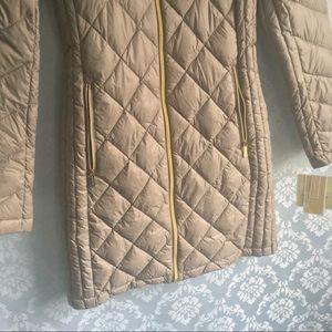 Michael Kors Jackets & Coats - NWT Michael Kors Taupe Hooded Down Puffer Coat